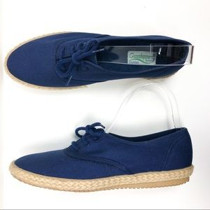 Grasshoppers Shoes - Grasshoppers by Keds Canvas Espadrille Sneakers